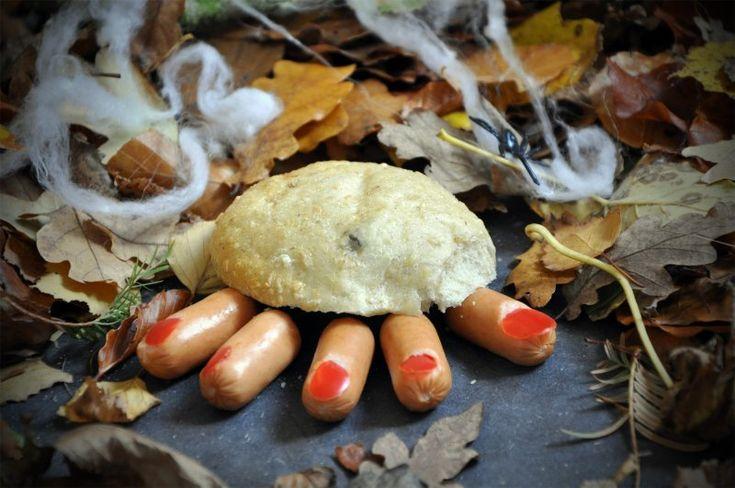 Halloween baby fingre, Andet,Halloween, Andet, Svinekød, opskrift