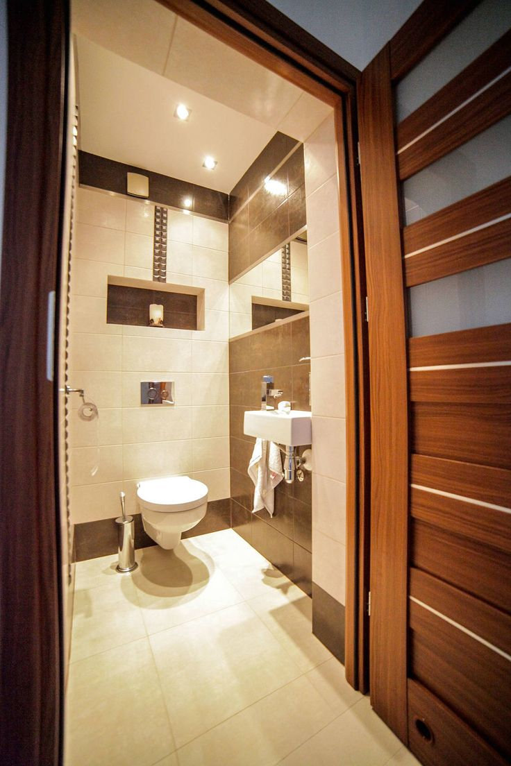 Realizacja projektu Meteor 2 : Casas de banho modernas por BIURO PROJEKTOWE MTM STYL