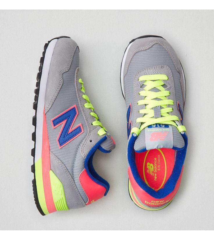 Grey New Balance 515 Sneaker
