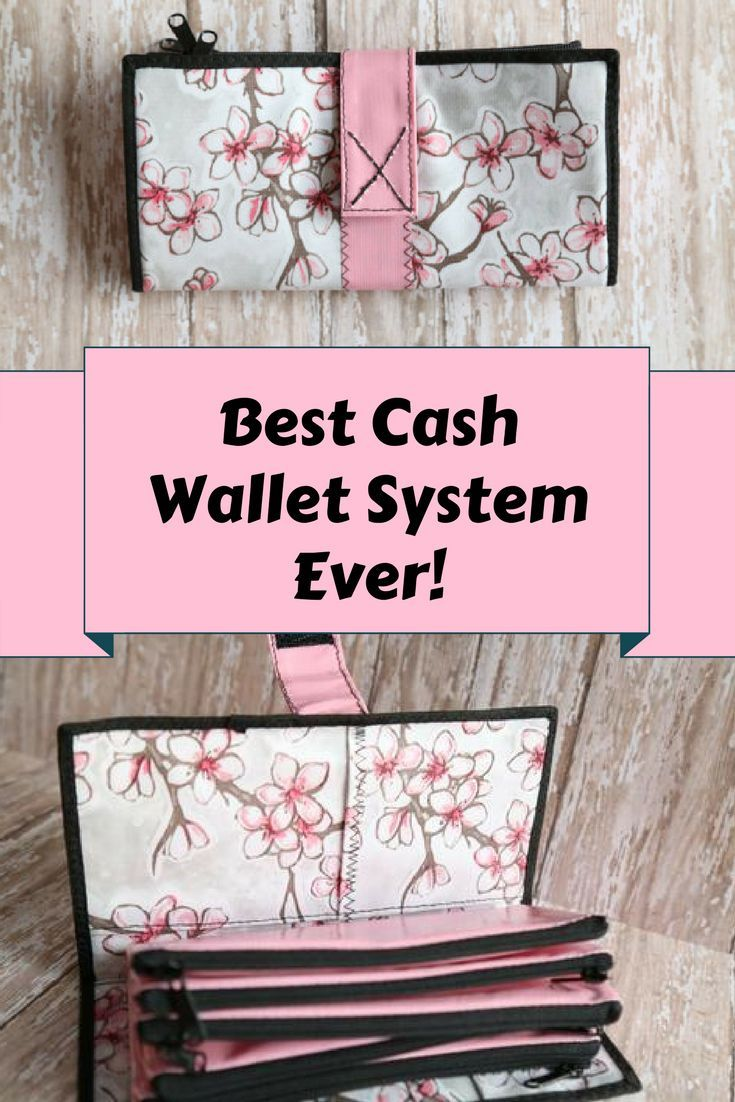 Cute and fun!  Strong oilcloth cash wallet system ~ great for organizing cash, coupons and receipts. (scheduled via http://www.tailwindapp.com?utm_source=pinterest&utm_medium=twpin)