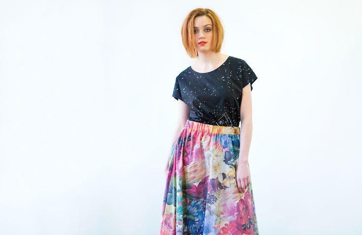 Leap Skirt : Flowers