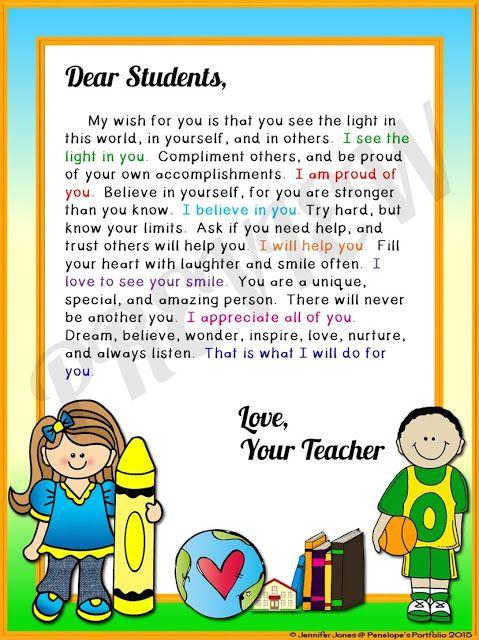 https://www.teacherspayteachers.com/Product/Welcome-Letter-2028134