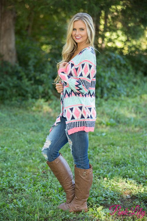 Just like the name says, this cardigan is simply the sweetest look for fall!