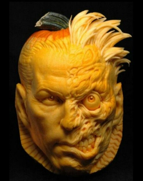 Awesome pumpkin carving amazing d art pinterest