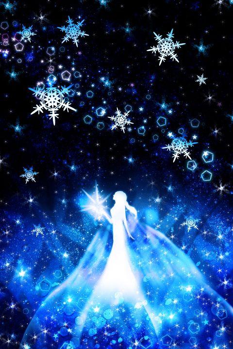「アナと雪の女王」/「ハラダミユキ」のイラスト [pixiv]