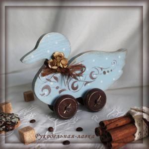 изделия ручной работы, подарок ручной работы, интерьерная игрушка, предмет декора интерьера, декупаж, деревянные