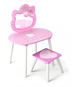 Juguete tocador de belleza infantil Hello Kitty. De madera. 12TF86543HK
