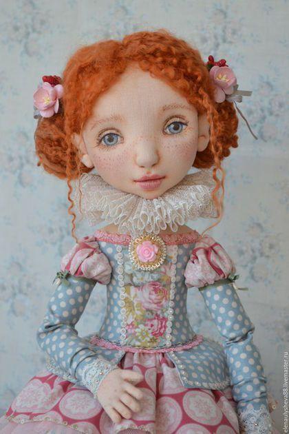 Коллекционные куклы ручной работы. Кукла  Шарлотта. Елена Уляшёва. Интернет-магазин Ярмарка Мастеров. Розовый, кукла ручной работы