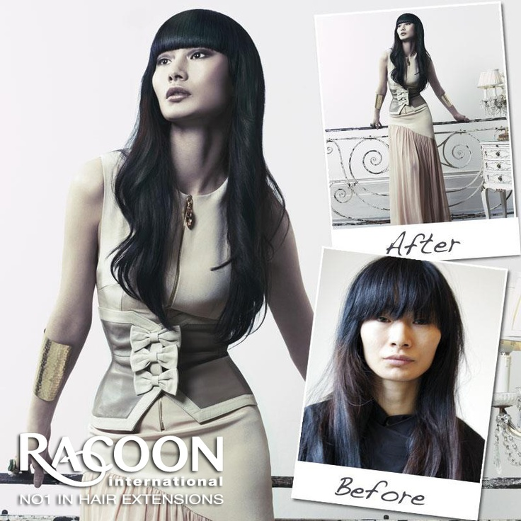 "Racoon International Micro Weft extensions are the perfect way to add instant length and volume in no time at all!    Known as the ""Lunch time make-over"" your Racoon International certified stylist can apply a full head of Micro Weft extensions in less than an hour.    To find your nearest Racoon certified stylist, click on our Salon finder tab on our website."