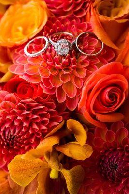 Halo Oval-Cut Diamond Engagement Ring    Photography: Lin %26 Jirsa Photography   Read More:  http://www.insideweddings.com/weddings/vibrant-indian-wedding-ceremony-modern-rooftop-reception/750/