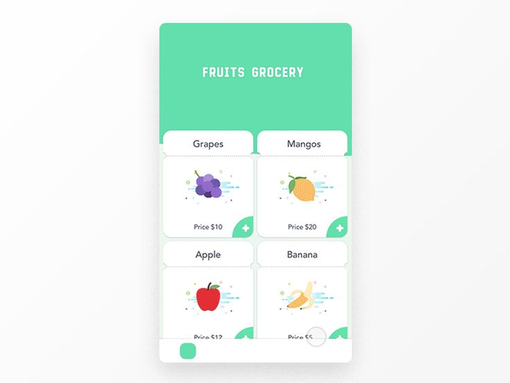 Fruits icon credit: Twemoji  Checkout for DAILY UI  #dailyui #002
