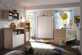 """ΒΡΕΦΙΚΑ ΕΠΙΠΛΑ :: Βρεφικά δωμάτια :: Mausbacher σετ κούνια & συρταριέρα """"sven"""""""