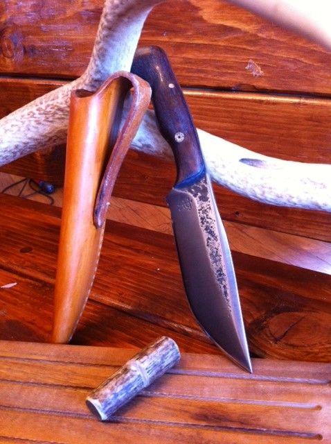 Dark Timber Custom Knives Camp Knives www.darktimberknives.com