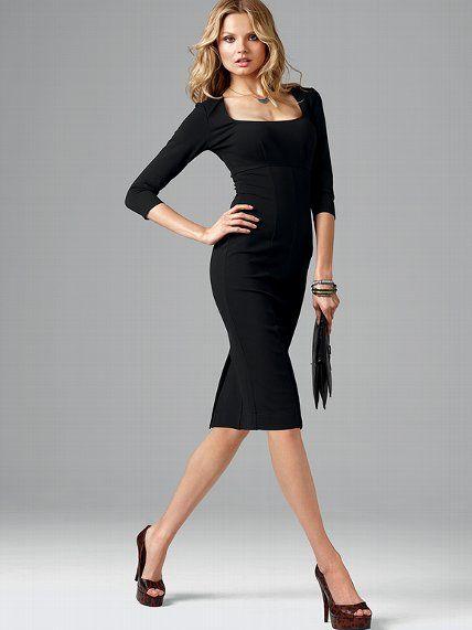 Ponte Sheath Dress #VictoriasSecret http://www.victoriassecret.com/clothing/dresses/ponte-sheath-dress?ProductID=74443=OLS?cm_mmc=pinterest-_-product-_-x-_-x