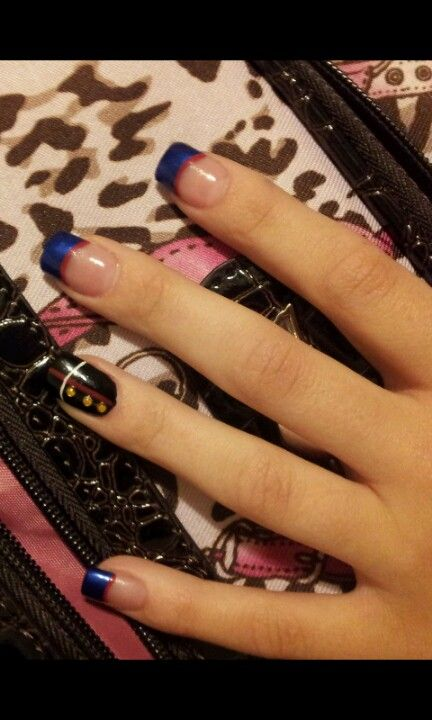 My graduation nails! (:                                                       …