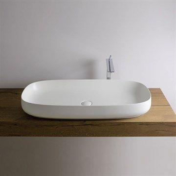 Håndvask Seme 5 til bordplade. Made in Italy.