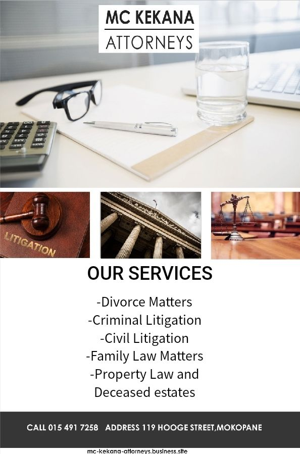 MC Kekana Attorneys in Limpopo :) Our Services -Divorce