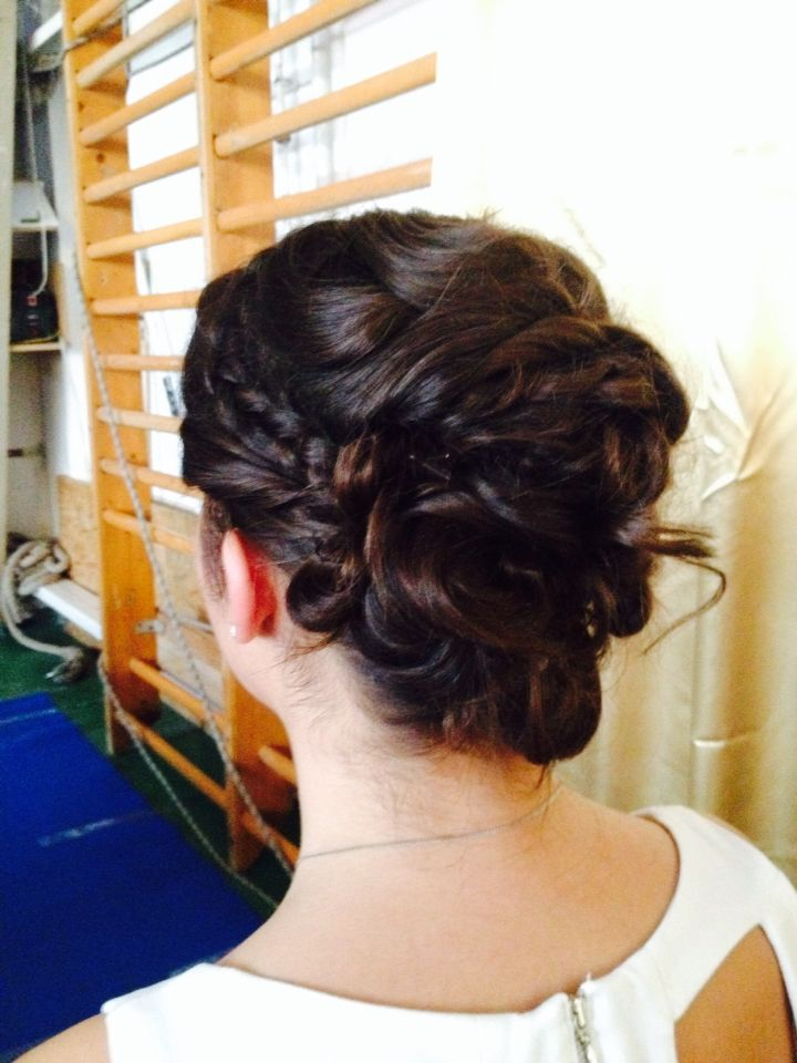 >•• Bridal hair look••<