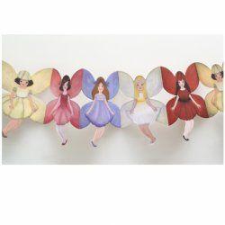 Little Boo-Teek - Clocks, Lighting & Decor Papercat Paper Dolls Bunting - Fairies $11.95  www.littlebooteek.com.au #littlebooteek #presents #kids #baby