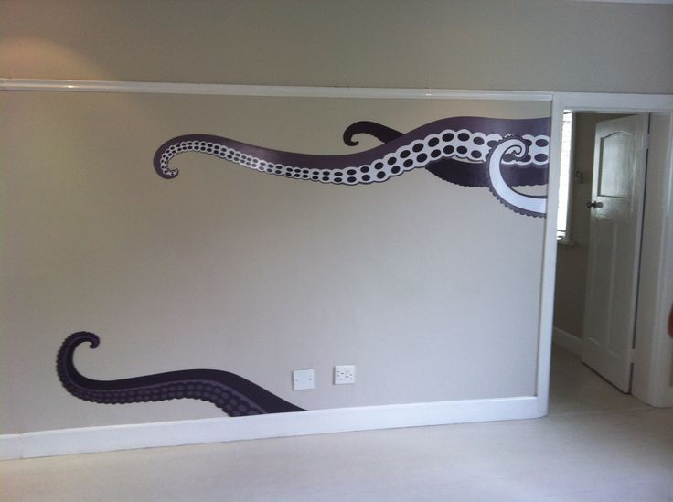 How cool are these vinyl tentacles?