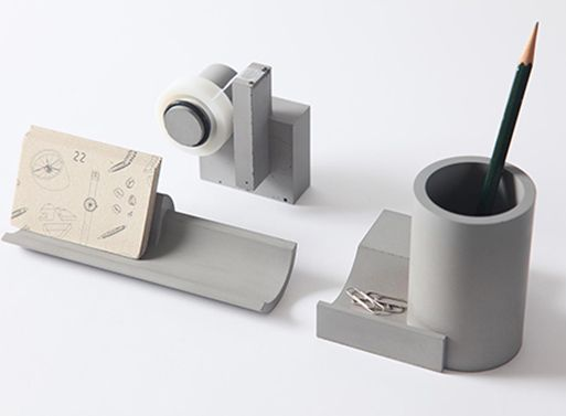 Merge Concrete Tape Dispenser — ACCESSORIES -- Better Living Through Design