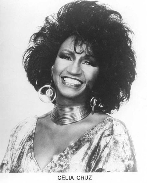 Celia Cruz en una imagen de archivo. Description from pinterest.com. I searched for this on bing.com/images