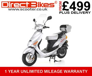 Scooters from only £499