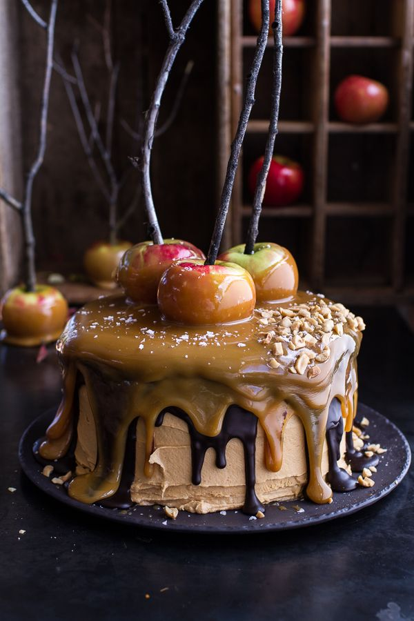 Snickers Apple Salted shopping laptop Cake halfbakedharvest com online  hbharvest Caramel