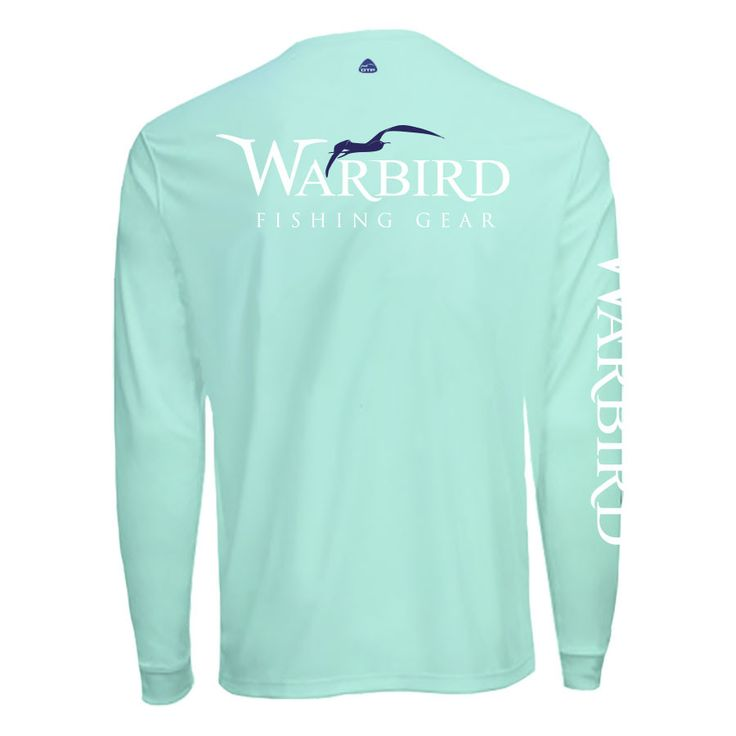 Men's OTP UV Shirt: Seagrass Warbird
