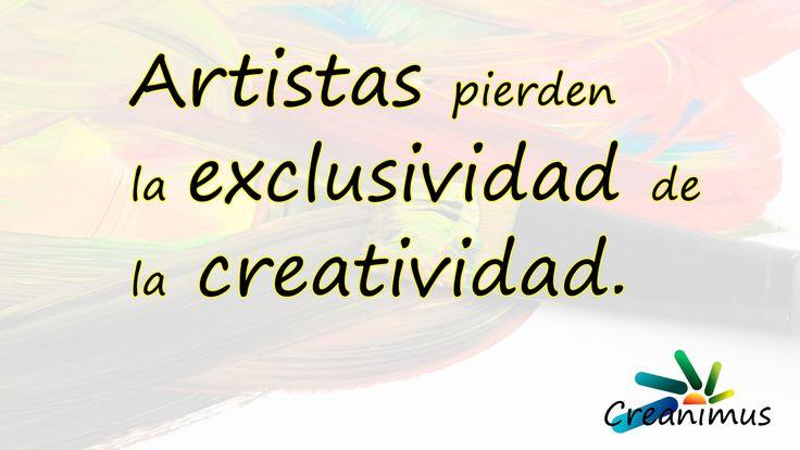Artistas pierden la exclusividad de la creatividad 01 | Creanimus
