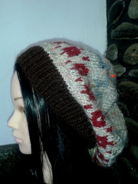 Check out this item in my Etsy shop https://www.etsy.com/listing/245942132/brown-grey-red-unique-pattern-oversized