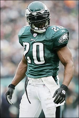 Brian Dawkins:  A man with an incredible passion for the game of football, and more importantly- for His Savior.  He recently retired, ending his career with the Philadelphia Eagles , but will be respected and remembered in their Hall of Fame.