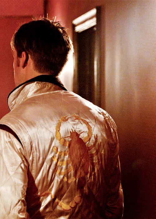 The scorpion jacket in Drive...oh, and Ryan Gosling.