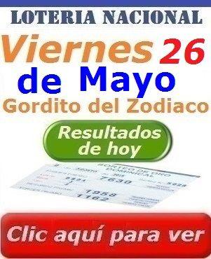 Gordito Del Zodiaco Del 26 de Mayo de 2017 (Gordito de Mayo) Loteria Nacional De Panamá