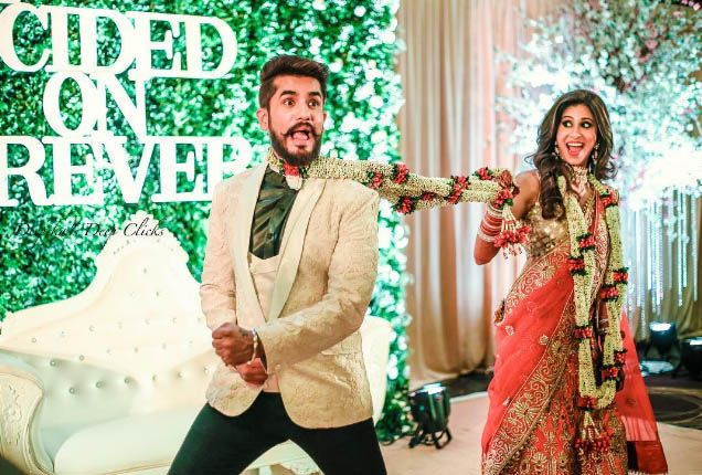 These Wedding Pictures Of Lovebirds Suyyash Rai And Kishwer Merchantt Are Just Adorable!