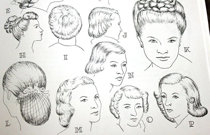 Women's 1940s Hairstyles: An Overview - HAIR AND MAKEUP ARTIST ...