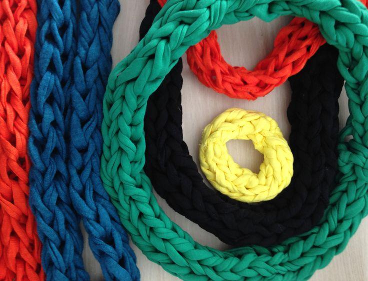 Les 25 meilleures id es concernant tricoter avec les doigts sur pinterest p - Tricoter sans aiguilles ...