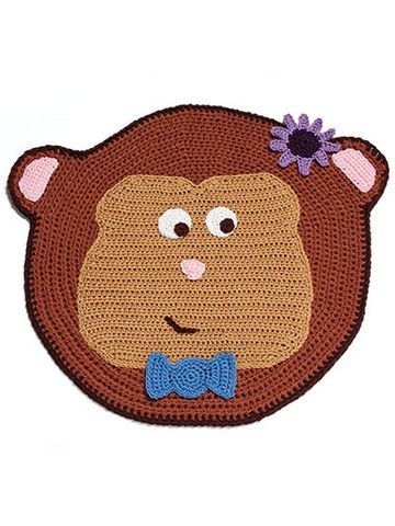 Picture of Cute Crochet Rugs For Kids