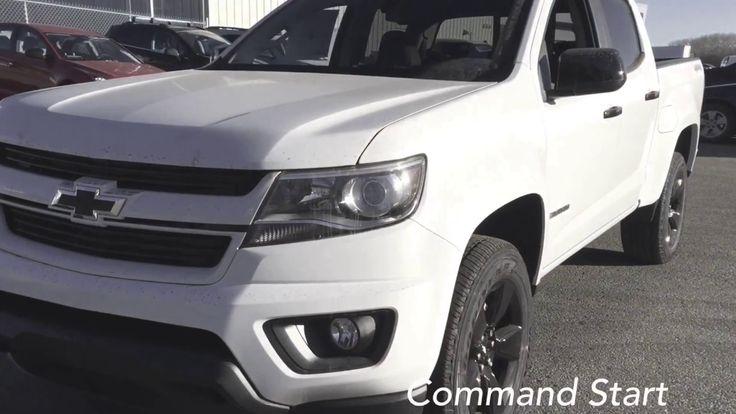 2018 Chevrolet Colorado / Crew Cab, Short Box / White, 4X4, 4LT / 18n095