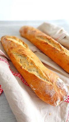 Baguette tradition (la recette parfaite !)