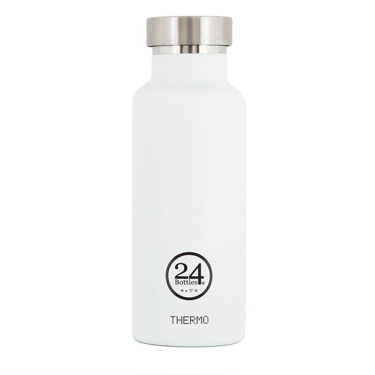 #thermoskanne #thermo #trinkflasche #24bottles #white #mehrgruen