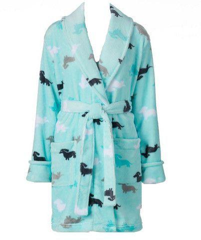 Dachshund Plush Wrap Robe – The Smoothe Store