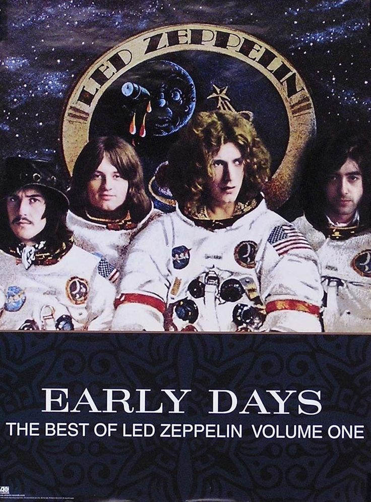 Led Zeppelin 1999 The Best Of Early Days Original Promo Poster  Link to Store: http://stores.ebay.com/Rock-On-Collectibles/Classic-Rock-Posters-Icons-/_i.html?_fsub=10628878&_sid=70220124&_trksid=p4634.c0.m322