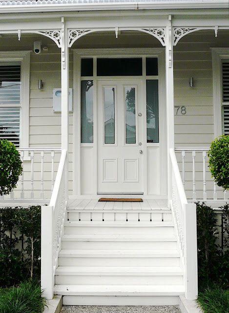 Villa - entrance, stairs, door