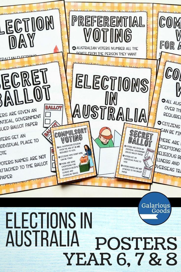 California election date in Australia