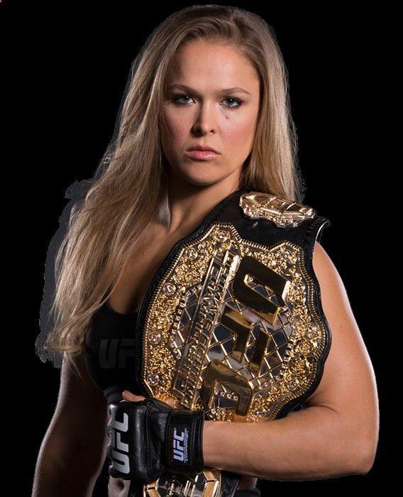 Ronda Rousey - UFC Womens Bantamweight Champion - Fecha de nacimiento: 1 de febrero de 1987 (edad 28), Riverside, California, Estados Unidos Estatura: 1,70 m Peso: 61 kg