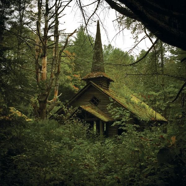 Nature Taking Over Abandoned Oregon Church #abandoned
