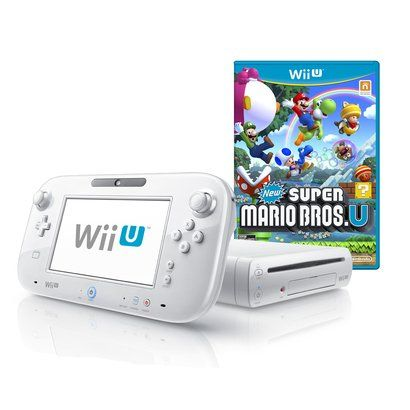 Wii U 8GB Basic Set Console + New Super Mario Bros. U – White (Nintendo Wii U) http://gamegearbuzz.com/wii-u-8gb-basic-set-console-new-super-mario-bros-u-white-nintendo-wii-u/