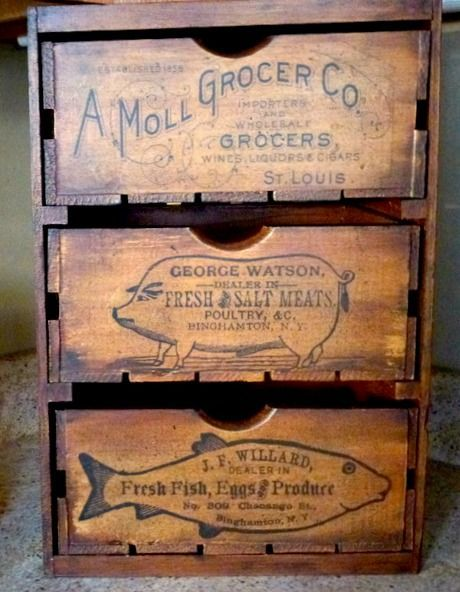 Today's reader feature is from Jess, who submitted her awesome 3 DrawerDIY Veggie Bin! She put together these 3 crates, and then painted them heavily with milk paint. After that, she used a heavy hand and glazed them, dry brushed and fly specked them as well. She used the Fish, Pig, and Grocery graphics, and …