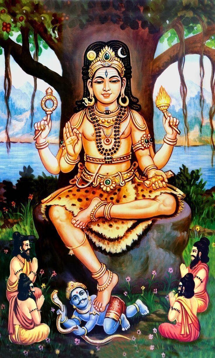Dhakshinamoorti Hinduism Shiva Lord Shiva Shiva Shakti